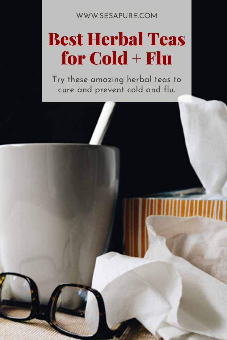 best herbal teas for cold and flu